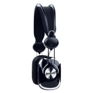 Merkury Retro Headphones - Black