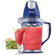 Euro-Pro Ninja Master Prep Blender and Food Processor, Blue