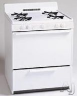 "Premier Range BFK100TP 30"" Freestanding Gas Battery Operated Range in Biscuit BFK100TP"