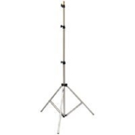 "Savage 10' Aluminum Heavy Duty Air-Cushioned Lightstand, Three Section, 5/8"" Top Stud with 1/4"" - 20 Thread."