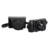 "Sony Cyber-Shot WX500 Camera, HD 1080p, 18.2MP, 30x Optical Zoom, Wi-Fi, NFC, 3"" Vari Angle LCD Screen with Jacket Camera Case"