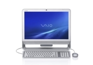 "VAIO Desktop Computer - 2.53 GHz (20"" Display - 4 GB RAM - 500 GB HDD - Intel 1.71 GB - Wi-Fi - Bluetooth - Windows Vista Home Premium)"