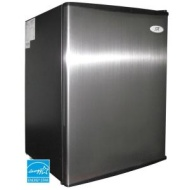 Sunpentown Energy Star Compact Refrigerator - Stainless Steel