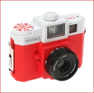 White Stripes Lomography Cameras
