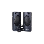 iMicro MD693B 2.0 Channel Plastic Multimedia Speaker System (Black)