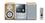Panasonic SC-PM21EG-S - Micro system - radio / CD / cassette - silver
