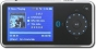Insignia Pilot with Bluetooth NS-4V24 - Digital player / radio - flash 4 GB - WMA, Ogg, MP3, WMAPro, protected WMA (DRM 10) - video playback - displa
