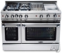 "GCR486GN Capital 48"" Precision Series Gas Convection Range - 6 Burners with Griddle - Natural Gas"