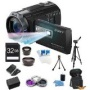 Sony HDR-PJ710V 32GB HD Projector Camcorder 24.1 MP still with Geotagging Bundle