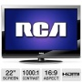 "RCA 22LA45RQD RCA 22"" 1080P LCD Television with DVD player Refurbished"