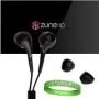 Zune HD 16 GB Video MP3 Player (Black) Zune Earbuds for Microsoft Zune HD Earphones ** BLACK **!!!
