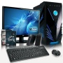 VIBOX Fusion Package 7 - 4.0GHz Quad Core, R7 260, 16GB RAM, 1TB, Top Online, Family, Desktop Gaming PC, USB3.0 Computer Full Package with 2x Top Game