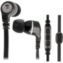 Scosche Iem856md Black In-ear Monitor Earbud Headphones W/ Tapline Iii Control