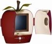 "Hannspree Fun HANNS.A Red - 10"" LCD TV"