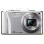 Panasonic Lumix DMC-TZ22 - Digital camera - 3D - compact - 14.1 Mpix - optical zoom: 16 x - supported memory: SD, SDXC, SDHC - silver