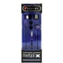 Sentry HO488 Metalix Silicon Ear Buds (Purple)