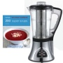 Designer Habitat Electric Soup Maker - with Blender, Pulse, Cooker, Steamer, Boiler, Smoothie maker and Reheat functions with FREE 200 Super Soups rec