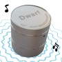 Portable Devices Mighty Dwarf 5W Vibrating speaker - silver - Turn your desk into a loudspeaker!