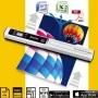 Everest Scanner Couleur Wi-Fi Portable Portatif 900 dpi avec Logiciel OCR Neuf