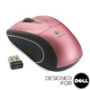 V450 NANO Cordless Laser Mouse - Flamingo Pink - Designed for Dell