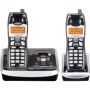 GE Edge 25952EE2 - Cordless phone w/ call waiting caller ID & answering system - 5.8 GHz + 1 additional handset(s)