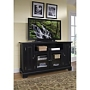 Home Styles Bedford Entertainment Credenza - Black