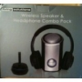 Living Solutions Wireless Speaker & Headphone Combo Pack