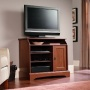 Sauder Graham Hill Highboy TV Stand - Autumn Maple