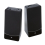 V7 A320S-E5 - PC multimedia speakers - 3.2 Watt (Total) - black with silver accents