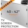 40 - 42 inch Vizomax TV Screen Protector for LCD, LED & Plasma HDTV