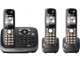 PanasonicKX-TG6543B DECT 6.0 Plus Expandable Digital Cordless Answering System