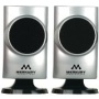 New- MERKURY M-SPW460 UNIVERSAL STEREO SPEAKERS (SILVER) - M-SPW460
