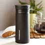 Starbucks Stainless Steel Travel Press Black, 10 oz