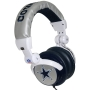 iHip NFH22DAC NFL Dallas Cowboys DJ Style Headphones, Blue/Silver