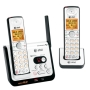 AT&T Silver DECT 6.0 Digital Corded/Cordless Phone with Answering System