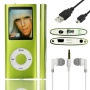 SHS 8GB MP3 MP4 Player LCD Screen with FM Radio Video Games Movie Color Green