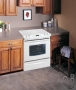 "Frigidaire Gallery Series GLES389F - Range - 30"" - slide-in - with self-cleaning - white"