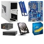GIGABYTE Ivy Bridge Unlocked Barebones Kit - GIGABYTE GA-Z77-DS3H Board, Intel Core i5-3570K CPU, ADATA 8GB DDR3 RAM Kit, Seagate 1TB HDD, 24x DVDRW,