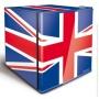 Husky EL193 Union Flag Table Top Refrigerator