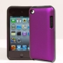 4G Touch Part Purple Hybrid & Part Black Silicone + Screen Protector Kit for Apple iPod Touch 4 4th Generation - 8GB 32GB 64GB
