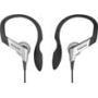 Panasonic Water Resistant Sports Clip Headphones - Silver
