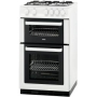 Zanussi ZCG561FW Gas Cooker, White