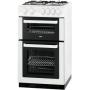 Zanussi ZCG561FW Gas Cooker, White
