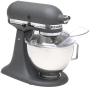 KitchenAid KSM90PS 300-Watt Ultra Power 4-1/2-Quart Stand Mixer, Imperial Grey