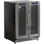 Avanti 21-Bottle, 54-Can Dual Zone Beverage Center