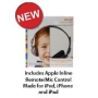 NEW Kidz Gear Wired Headphones For Kids - Includes Inline Remote/Mic Audio Control