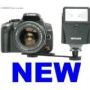 "Neewer Digital Slave Flash + Bracket Set for Digital SLR DSLR Cameras or any Digital Camara! ""Fires Without Wires - No Camera Connection Required!"" Au"