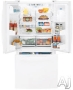 GE Freestanding Bottom Freezer Refrigerator PFS22MISWW
