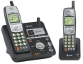 AT&T ATT 5.8GHz Dual Handset Answering System