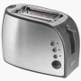 Betty Crocker Appliances BPL-600U Betty Crocker Platinum Stainless Steel 2-Slice Toaster